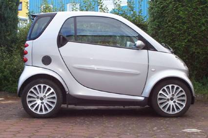 Aluminium Wheel Cover for Smart for two and Cabrio 450 & 451