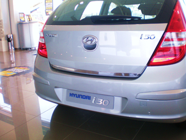 Inox Boot Trim for i30